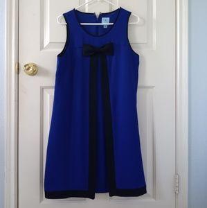 CeCe royal blue sleeveless dress